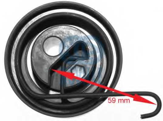Натяжной ролик ременя ГРМ RUVILLE 55383 - изображение