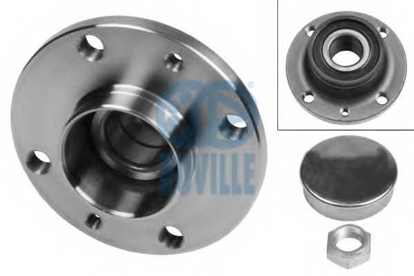 Комплект подшипника ступицы колеса RUVILLE 5846 - изображение