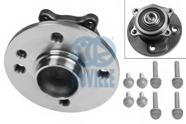 Комплект подшипника ступицы колеса RUVILLE 6253 - изображение