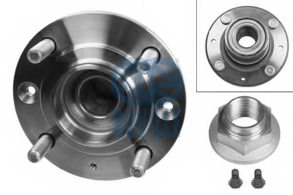 Комплект подшипника ступицы колеса RUVILLE 6522 - изображение