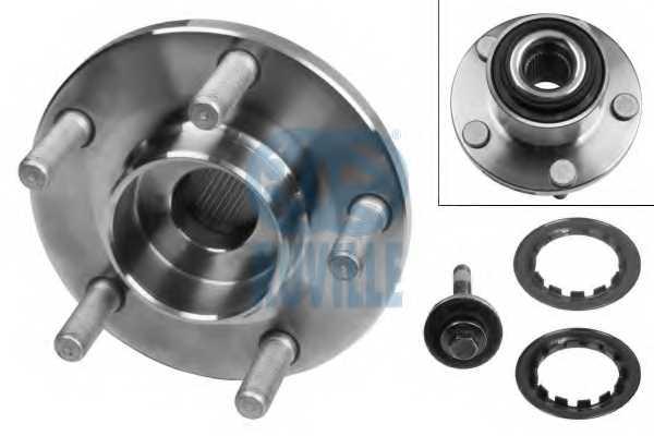 Комплект подшипника ступицы колеса RUVILLE 6535 - изображение
