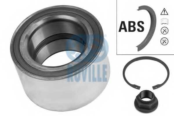 Комплект подшипника ступицы колеса RUVILLE 6639 - изображение