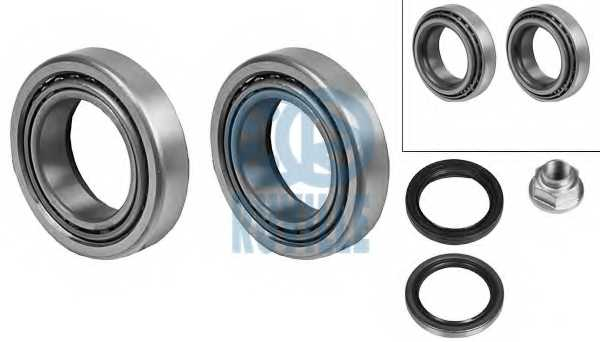 Комплект подшипника ступицы колеса RUVILLE 8453 - изображение