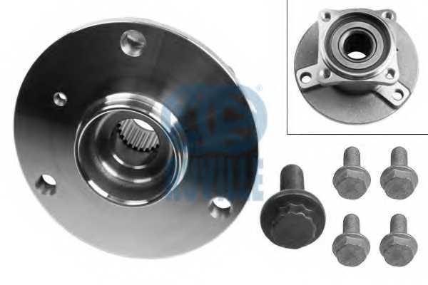 Комплект подшипника ступицы колеса RUVILLE 8708 - изображение