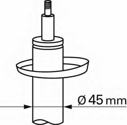 Амортизатор для BMW 3(E30) <b>SACHS 100 457</b> - изображение 1