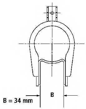 Амортизатор для RENAULT LAGUNA(556#,B56#,K56#) <b>SACHS 200 052</b> - изображение 1