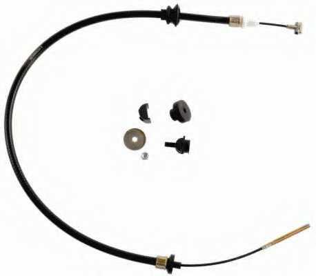 Трос управления сцеплением SACHS 3074600224 - изображение