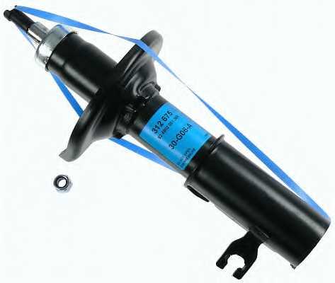 Амортизатор правый для MAZDA 323 P(BA), FAMILIA(BA) <b>SACHS 312 675</b> - изображение
