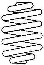 Пружина ходовой части SACHS 997 666 - изображение 1