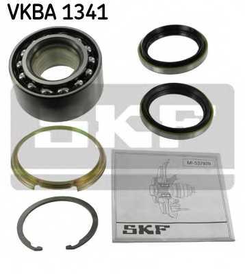 Комплект подшипника ступицы колеса SKF VKBA 1341 - изображение