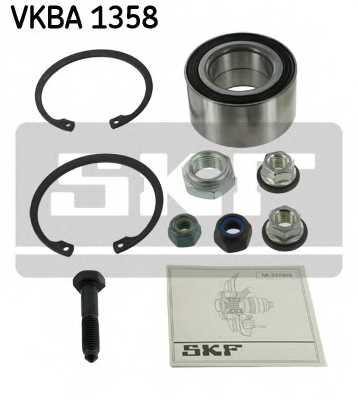 Комплект подшипника ступицы колеса SKF VKBA 1358 - изображение