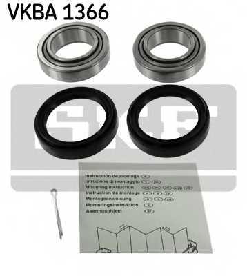 Комплект подшипника ступицы колеса SKF VKBA 1366 - изображение