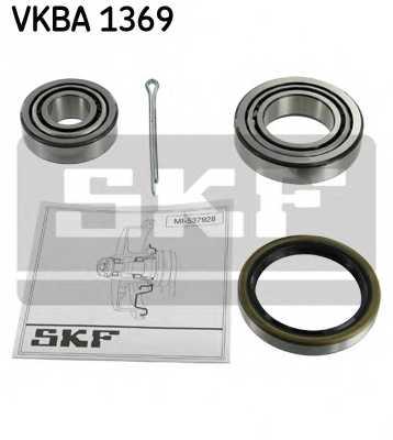 Комплект подшипника ступицы колеса SKF VKBA 1369 - изображение