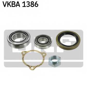 Комплект подшипника ступицы колеса SKF VKBA 1386 - изображение