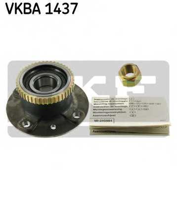 Комплект подшипника ступицы колеса SKF VKBA 1437 - изображение