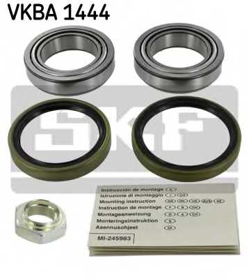 Комплект подшипника ступицы колеса SKF VKBA 1444 - изображение