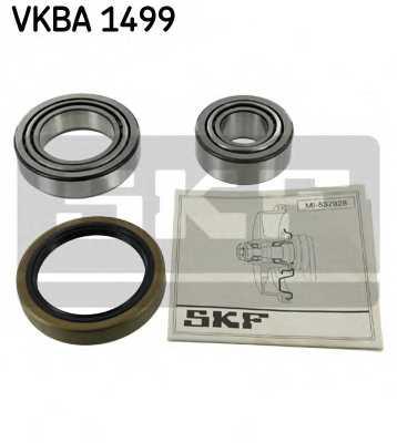 Комплект подшипника ступицы колеса SKF VKBA 1499 - изображение
