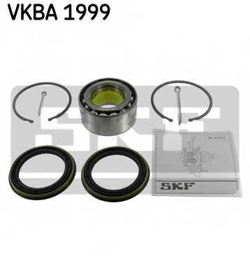 Комплект подшипника ступицы колеса SKF VKBA 1999 - изображение