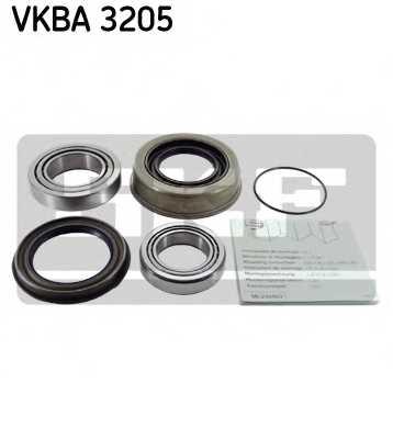 Комплект подшипника ступицы колеса SKF VKBA 3205 - изображение