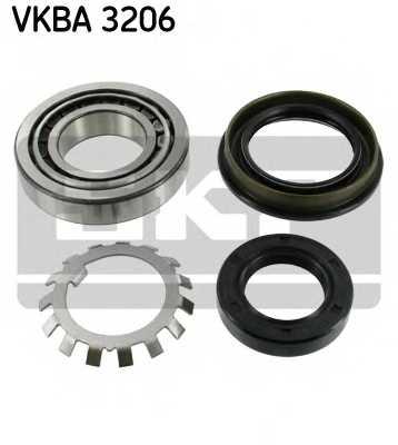 Комплект подшипника ступицы колеса SKF VKBA 3206 - изображение