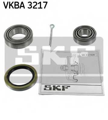 Комплект подшипника ступицы колеса SKF VKBA 3217 - изображение