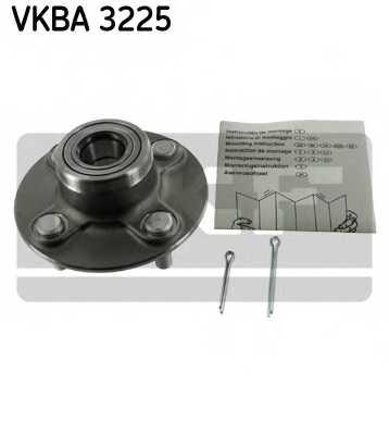 Комплект подшипника ступицы колеса SKF VKBA 3225 - изображение