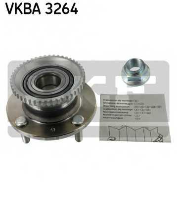 Комплект подшипника ступицы колеса SKF VKBA 3264 - изображение