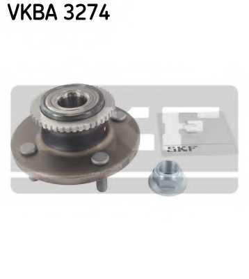 Комплект подшипника ступицы колеса SKF VKBA 3274 - изображение