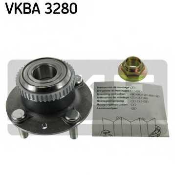 Комплект подшипника ступицы колеса SKF VKBA 3280 - изображение