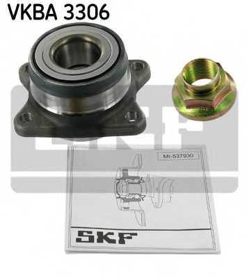 Комплект подшипника ступицы колеса SKF VKBA 3306 - изображение