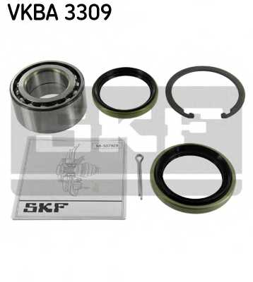 Комплект подшипника ступицы колеса SKF VKBA 3309 - изображение