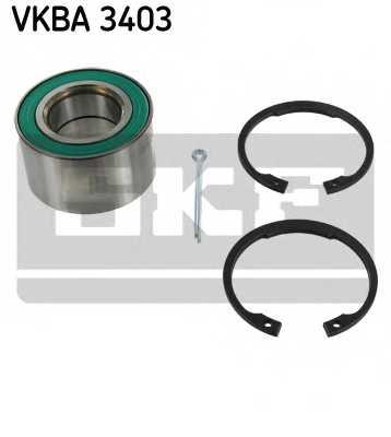 Комплект подшипника ступицы колеса SKF VKBA 3403 - изображение