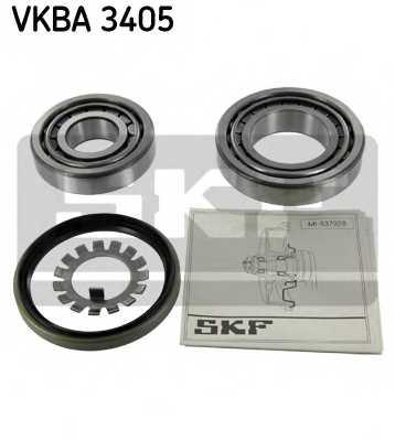 Комплект подшипника ступицы колеса SKF VKBA 3405 - изображение