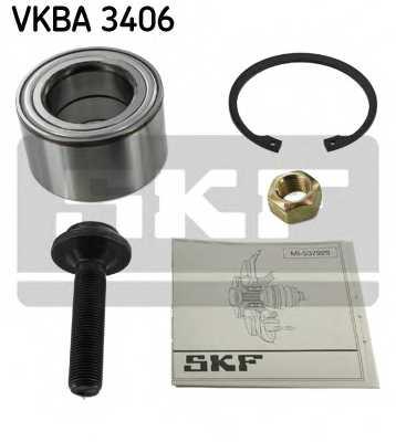Комплект подшипника ступицы колеса SKF VKBA 3406 - изображение