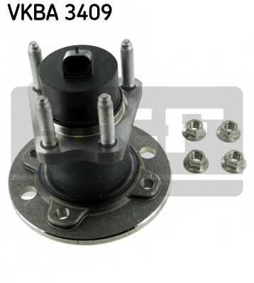 Комплект подшипника ступицы колеса SKF VKBA 3409 - изображение