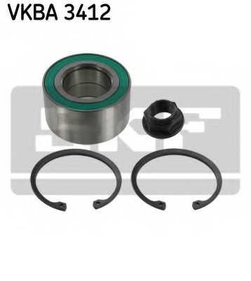 Комплект подшипника ступицы колеса SKF VKBA 3412 - изображение
