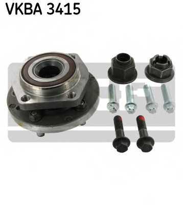 Комплект подшипника ступицы колеса SKF VKBA 3415 - изображение