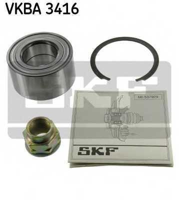 Комплект подшипника ступицы колеса SKF VKBA 3416 - изображение