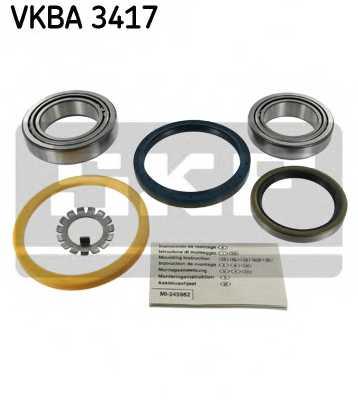 Комплект подшипника ступицы колеса SKF VKBA 3417 - изображение