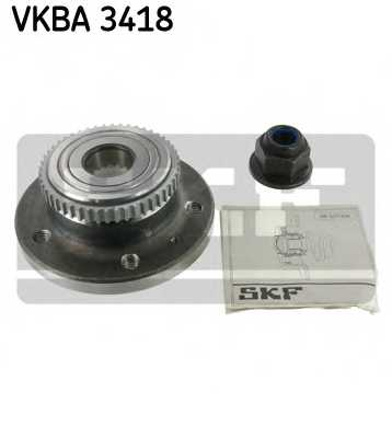 Комплект подшипника ступицы колеса SKF VKBA 3418 - изображение