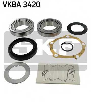 Комплект подшипника ступицы колеса SKF VKBA 3420 - изображение