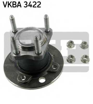 Комплект подшипника ступицы колеса SKF VKBA 3422 - изображение