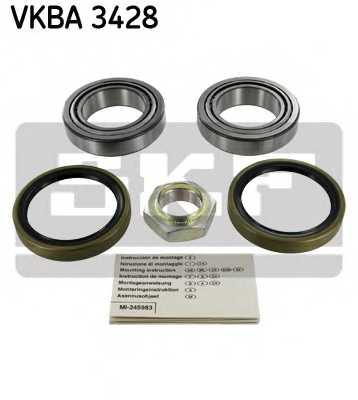 Комплект подшипника ступицы колеса SKF VKBA 3428 - изображение