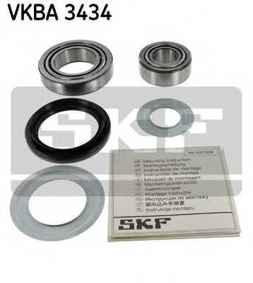 Комплект подшипника ступицы колеса SKF VKBA 3434 - изображение