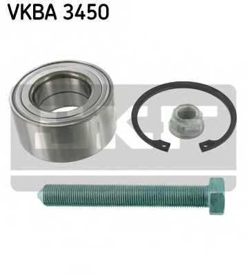 Комплект подшипника ступицы колеса SKF VKBA 3450 - изображение