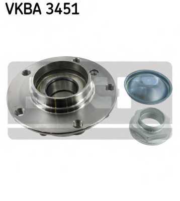 Комплект подшипника ступицы колеса SKF VKBA 3451 - изображение