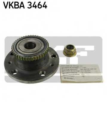 Комплект подшипника ступицы колеса SKF VKBA 3464 - изображение