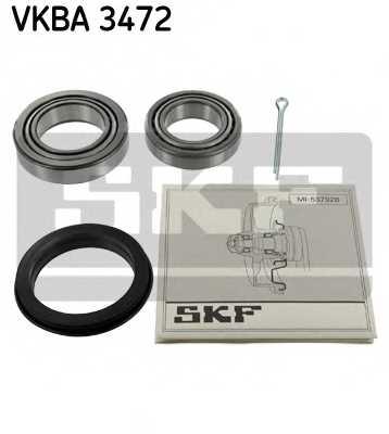 Комплект подшипника ступицы колеса SKF VKBA 3472 - изображение
