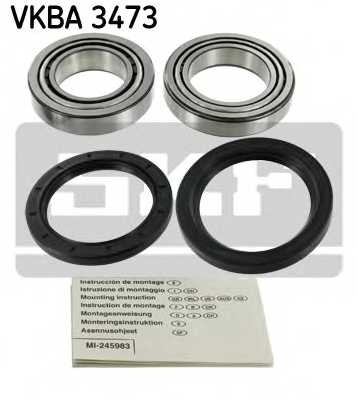 Комплект подшипника ступицы колеса SKF VKBA 3473 - изображение