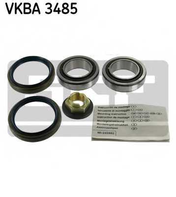 Комплект подшипника ступицы колеса SKF VKBA 3485 - изображение
